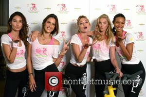Lily Aldridge, Alessandra Ambrosio, Martha Hunt, Elsa Hosk and Lais Ribeiro - Victoria's Secret Angels attend a photocall at Soul...
