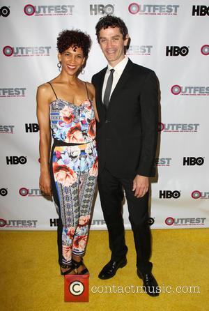 James Frain and Marta Cunningham - 2014 Outfest Opening Night Gala Premiere Of \Life Partner\ Arrivals - Los Angeles, California,...