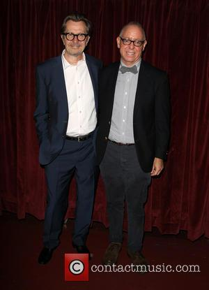 Gary Oldman and James Schamus
