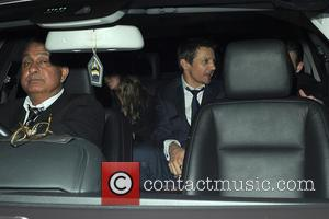 Jeremy Renner and Chris Evans - Celebrities visit Chiltern Firehouse - London, United Kingdom - Thursday 10th July 2014