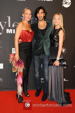 Natascha Ochsenknecht, Umut Kekilli and Cheyenne Savannah Ochsenknecht - Michalsky StyleNite as part of Mercedes-Benz Fashion Week Berlin Spring/Summer 2015...