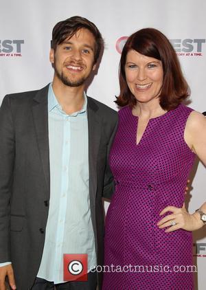 Devon Werkheiser and Kate Flannery