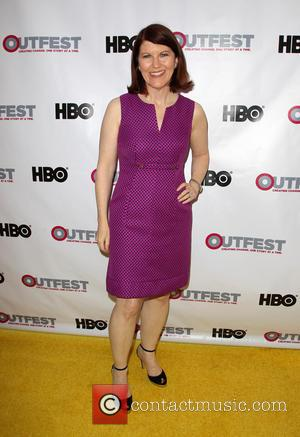 Kate Flannery - 2014 Outfest Opening Night Gala Premiere Of \Life Partner\ Arrivals - Los Angeles, California, United States -...