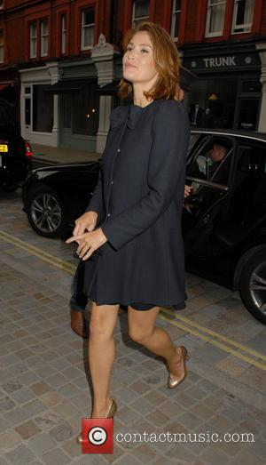 Gemma Arterton - Celebrities visit Chiltern Firehouse - London, United Kingdom - Thursday 10th July 2014