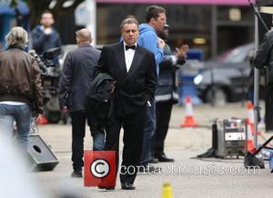 Harvey Keitel body double - Harvey Keitel filming in North London - London, United Kingdom - Thursday 10th July 2014