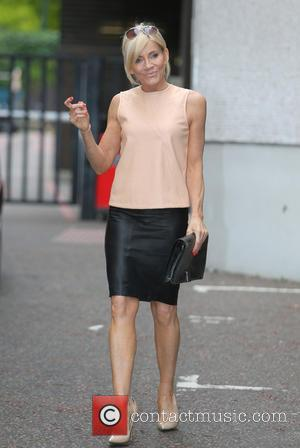 Michelle Collins - Michelle Collins outside the ITV studios - London, United Kingdom - Thursday 10th July 2014