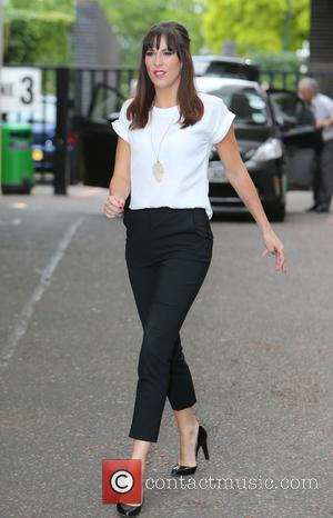 Verity Rushworth - Verity Rushworth outside the ITV studios - London, United Kingdom - Thursday 10th July 2014