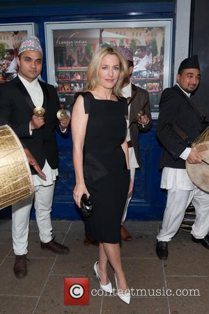 Gillian Anderson - 5th edition of the London Indian Film Festival held at the Cineworld Haymarket - Arrivals. - London,...