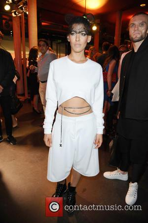Alina Sueggeler of Frida Gold - Michalsky StyleNite as part of Mercedes-Benz Fashion Week Berlin Spring/Summer 2015 at Tempodrom -...