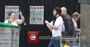 Sacha Baron Cohen and Mark Strong