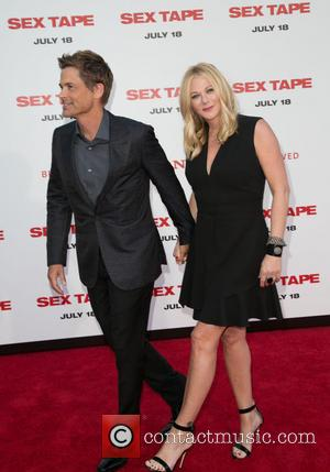 Rob Lowe and Sheryl Berkoff
