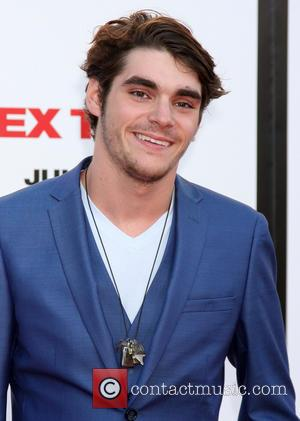 RJ Mitte - Premiere of Columbia Pictures' 'Sex Tape' - Arrivals - Los Angeles, California, United States - Thursday 10th...