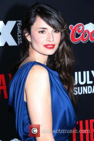 Mia Maestro - Premiere of FX's 'The Strain' held at the GA Theater - Arrivals - Los Angeles, California, United...