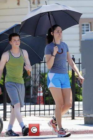 Emmy Rossum and Cameron Monaghan