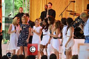 Jenna Bush, Savannah Guthrie, Camila Cabello, Normani Hamilton, Ally Brooke, Dinah-jane Hansen and Lauren Jauregui