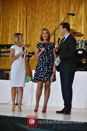Savannah Guthrie and Willy Giest