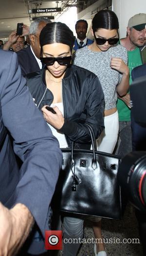 Kim Kardashian and Kendall Jenner