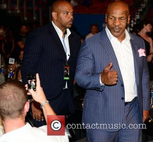 Mike Tyson - 'Judgment Day' boxing event at American Airlines Arena, presented by Mike Tyson's Iron Mike Productions - Miami,...