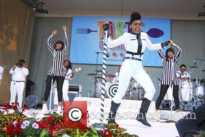 Janelle Monae Performs For The President At Political Fundraiser