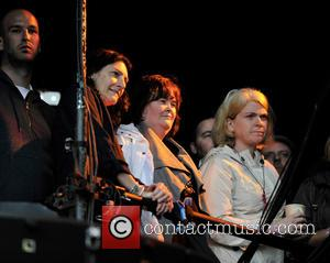 Susan Boyle - T in the Park 2014 - Day 2 - Celebrity Sightings - Susan Boyle - Kinross, United...