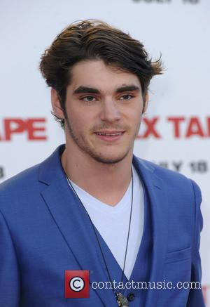 RJ Mitte - Premiere of Columbia Pictures' 'Sex Tape' - Arrivals - Los Angeles, California, United States - Friday 11th...