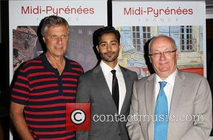 Lasse Hallström, Manish Dayal and Philippe Guérin - 'The Hundred-Foot Journey' LA French Consulate Screening hosted by Destination Midi-Pyrenees -...