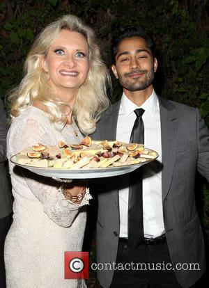 Sophie Gayot and Manish Dayal