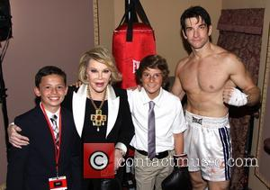 Andy Karl, Ben Moody, Joan Rivers