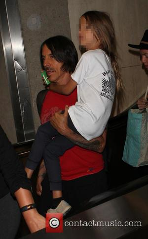 Anthony Kiedis and Everly Bear Kiedis