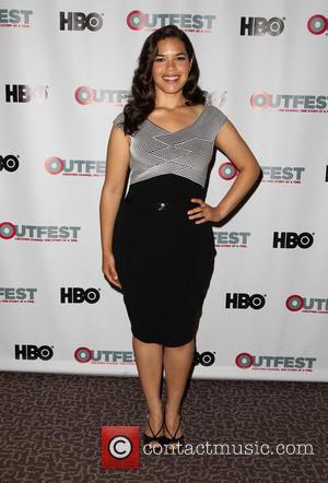 America Ferrera - 2014 Outfest Los Angeles screening of 'X/Y' - Los Angeles, California, United States - Saturday 12th July...