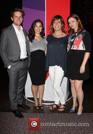 Ryan Piers Williams, America Ferrera, Kirsten Schaffer and Amber Tamblyn
