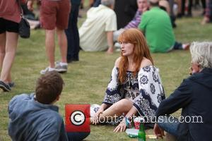 Florence Welch - Barclaycard Presents British Summer Time Hyde Park - Day 6 - Celebrity Sightings - Florence Welch -...