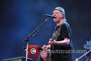 Neil Young - Barclaycard Presents British Summer Time Hyde Park - Day 6 - Performances - Neil Young & Crazy...