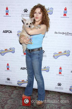 Bernadette Peters - Broadway Barks 16, a star-studded animal adoption event held in Shubert Alley - Arrivals. - New York,...