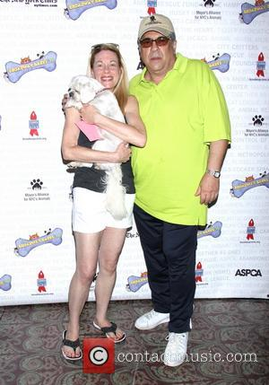 Marin Mazzie and Vincent Pastore