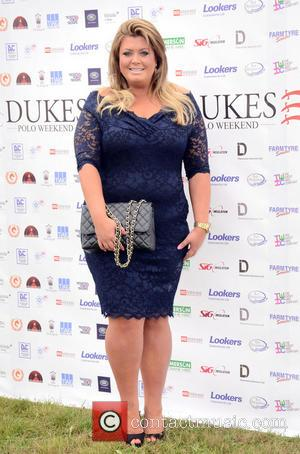 Gemma Collins - Duke of Essex Polo at Hylands Park, Chelmsford - Chelmsford, Essex, United Kingdom - Saturday 12th July...