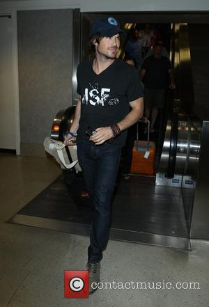 Ian Somerhalder - Ian Somerhalder at Los Angeles International Airport (LAX) - Los Angeles, California, United States - Sunday 13th...