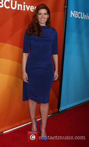 Debra Messing - NBCUniversal's 2014 Summer TCA Tour - Day 1 - Arrivals - Los Angeles, California, United States -...