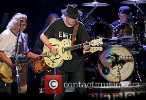 Frank \poncho\ Sampedro and Neil Young
