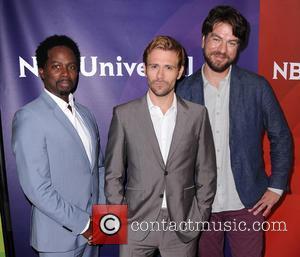 Harold Perrineau, Matt Ryan and Charles Halford