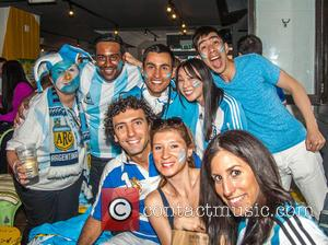 Atmosphere, Argentinian Football Fans, Argentine Fans and Argentina Fans