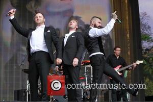 Boyzone, Mikey Graham, Ronan Keating and Shane Lynch