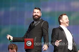 Boyzone, Mikey Graham and Shane Lynch