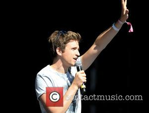 Greg James - T In The Park 2014 - Day 3 - Performances - Kinross, United Kingdom - Sunday 13th...
