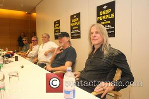 Don Airey, Ian Paice, Roger Glover, Steve Morse and Deep Purple