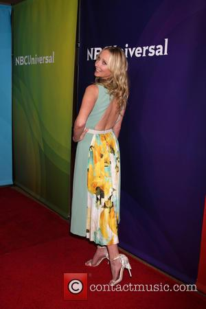 Anne Heche - Celebrities attend NBCUniversal's 2014 Summer TCA Tour - Day 2 - Arrivals at THE BEVERLY HILTON HOTEL....