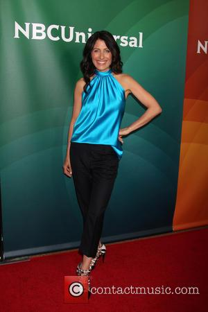 Lisa Edelstein - Celebrities attend NBCUniversal's 2014 Summer TCA Tour - Day 2 - Arrivals at THE BEVERLY HILTON HOTEL....