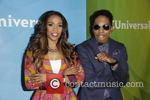 Michelle Williams and Deitrick Haddon - Celebrities attend NBCUniversal's 2014 Summer TCA Tour - Day 2 - Arrivals at The...