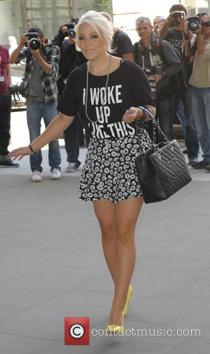 Amelia Lily - Celebrities at BBC Radio 1 - London, United Kingdom - Tuesday 15th July 2014