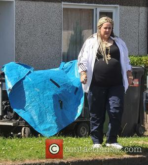 Eimear Morrissey - Filming of the second series of RTE's hit comedy show 'Damo and Ivor' - Dublin, Ireland -...